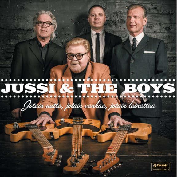 Jussi & The Boys Jotain uutta, jotain vanhaa, jotain lainattua LP 2019
