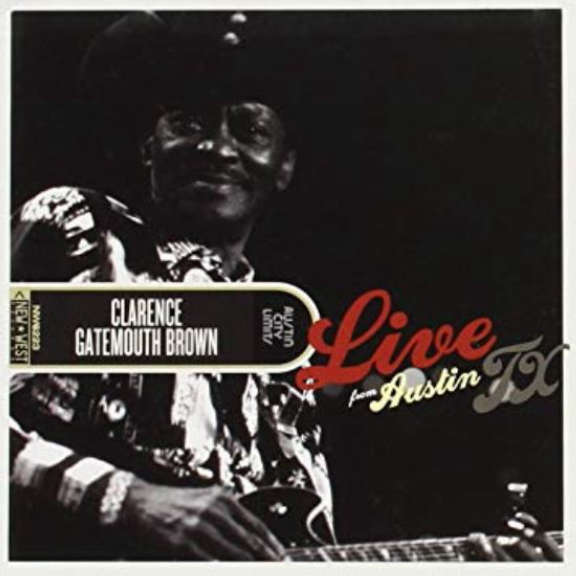 Clarence Gatemouth Brown Live from Austin, TX LP 2019