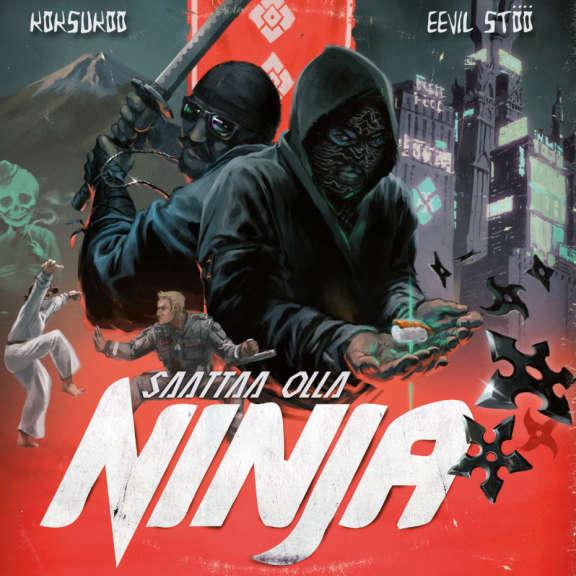 Eevil Stöö x KoksuKoo Saattaa olla ninja (c-kasetti) LP 2019