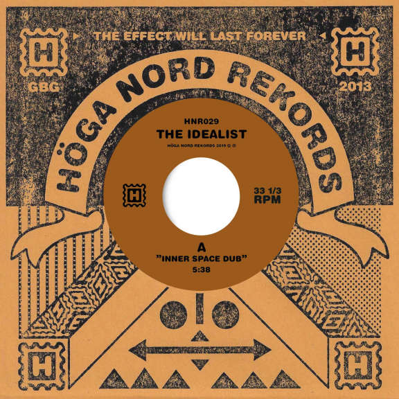 Idealist Inner Space Dub / The Fire of Moses Dub 7'' LP 2019