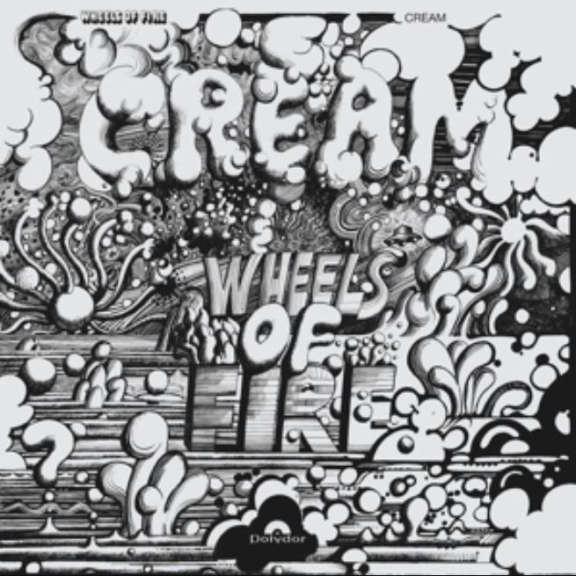 Cream Wheels of Fire LP 2015