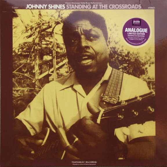 Johnny Shines Standing at the Crossroads LP 2013