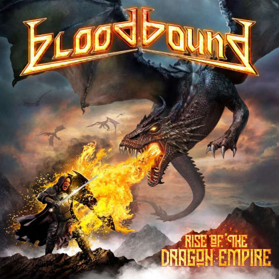 Bloodhound Rise of the Dragon Empire (Orange) LP 2019
