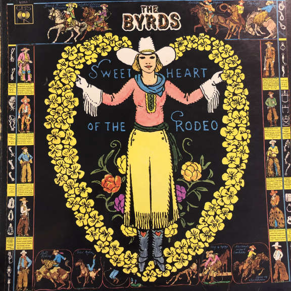 The Byrds  Sweetheart Of The Rodeo LP 1968