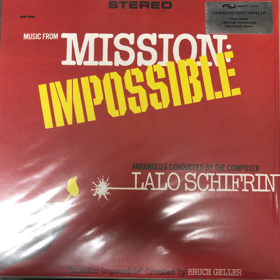 Lalo Schifrin MMusic From Mission: Impossible LP 0