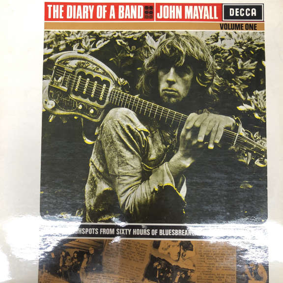 John Mayall  The Diary Of A Band (Volume One) LP 1968