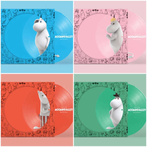 Various Moominvalley OST 4LP (picture disc) LP 2019