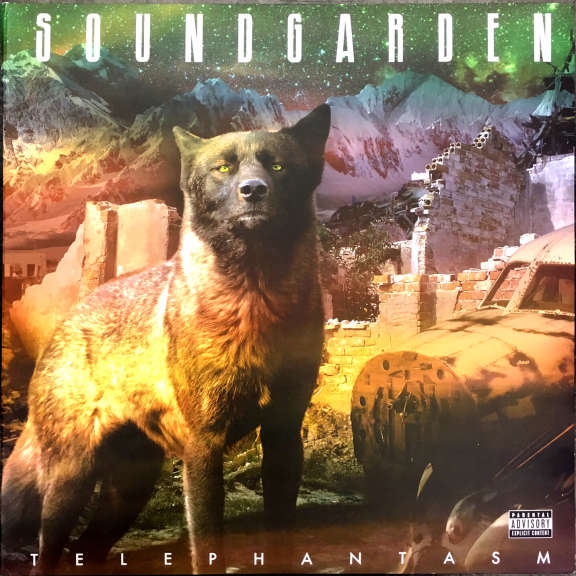 Soundgarden Telephantasm LP 2010