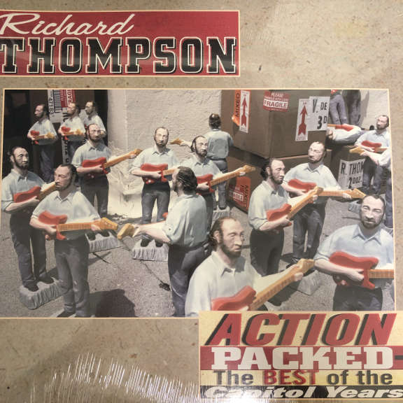 Richard Thompson Action Packed: The Best Of The Capitol Years LP 2001