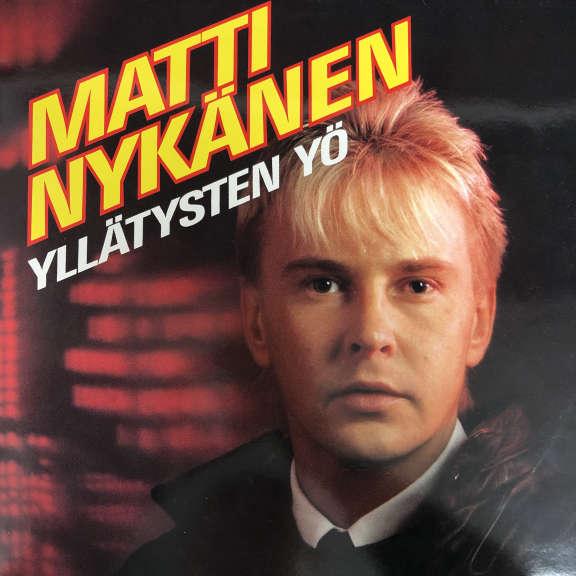 Matti Nykänen Yllätysten Yö LP 1992