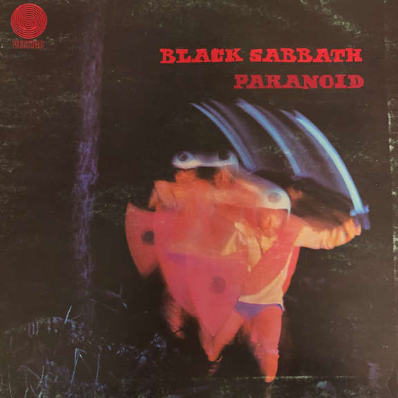 Black Sabbath   Paranoid     LP 1970