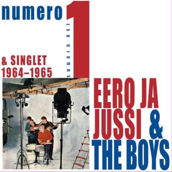 Eero ja Jussi & The Boys Numero 1 (Rolling Exclusive, valkoinen, nimmarilla) LP 2019