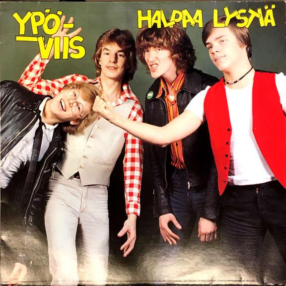Ypöviis Halpaa lystiä LP 1980