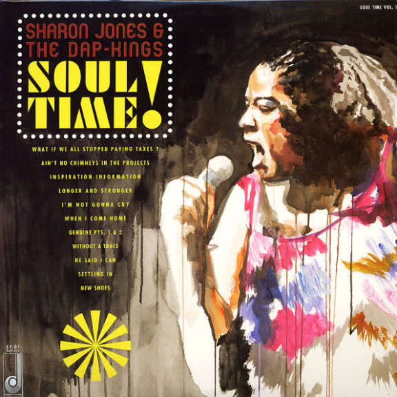 Sharon Jones & the Dap-Kings Soul Time! LP 2011