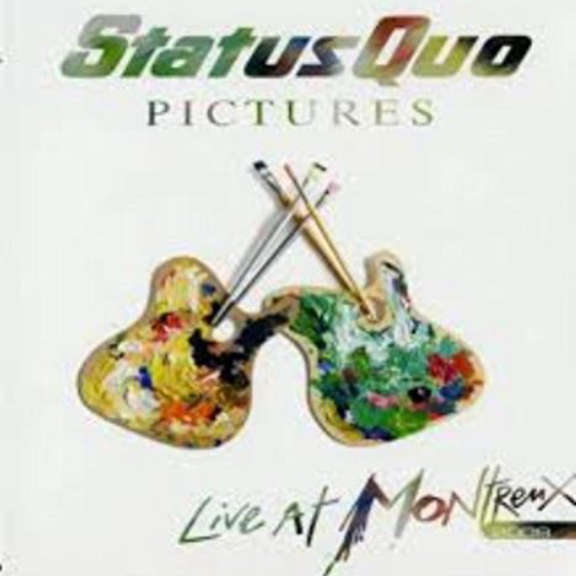 Status Quo Pictures - Live At Montreux LP 2019