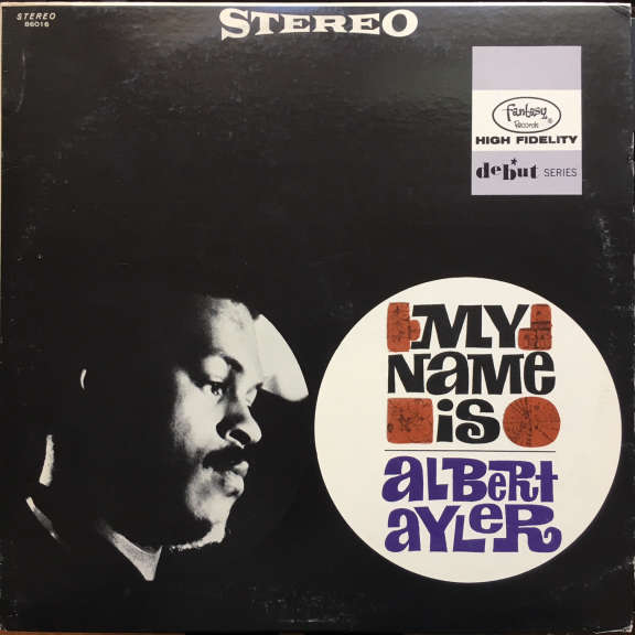 Albert Ayler My Name Is Albert Ayler LP 1965