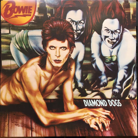 David Bowie Diamond Dogs     LP 1974