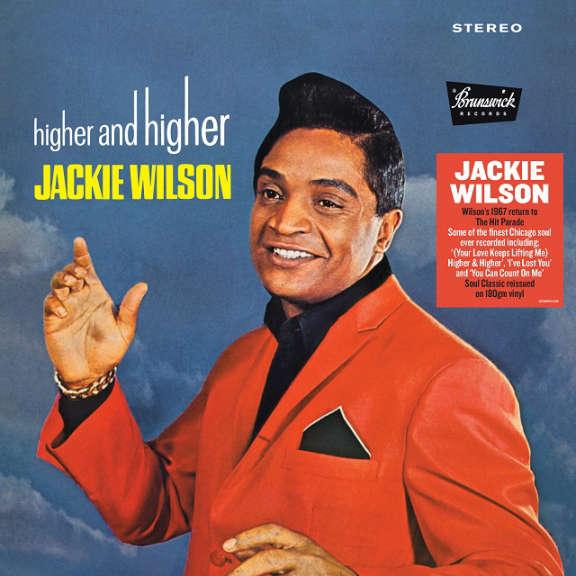 Jackie Wilson Higher & Higher LP 2019