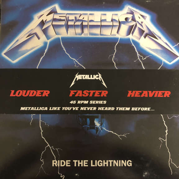 Metallica RRide The Lightning LP 2008
