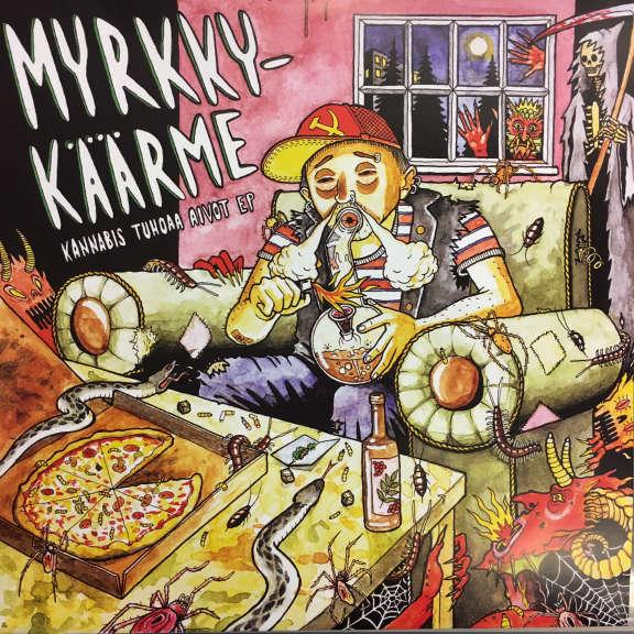 Myrkky-Käärme Kannabis tuhoaa aivot EP LP 2019