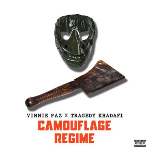 Vinnie Paz & Tragedy Khadafi Camouflage Regime LP 2019