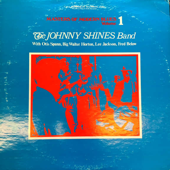 Johnny Shines Band Masters of Modern Blues LP 1966