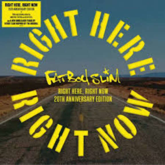 Fatboy Slim Right Here, Right Now Remixes LP 2019