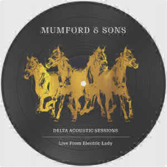 Mumford & Sons Delta Acoustic Sessions LP 2019