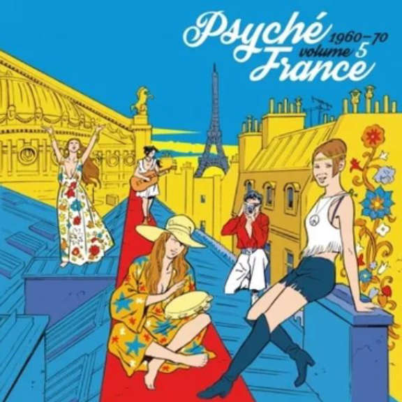 Various Psyché France, Vol. 5  LP 2019