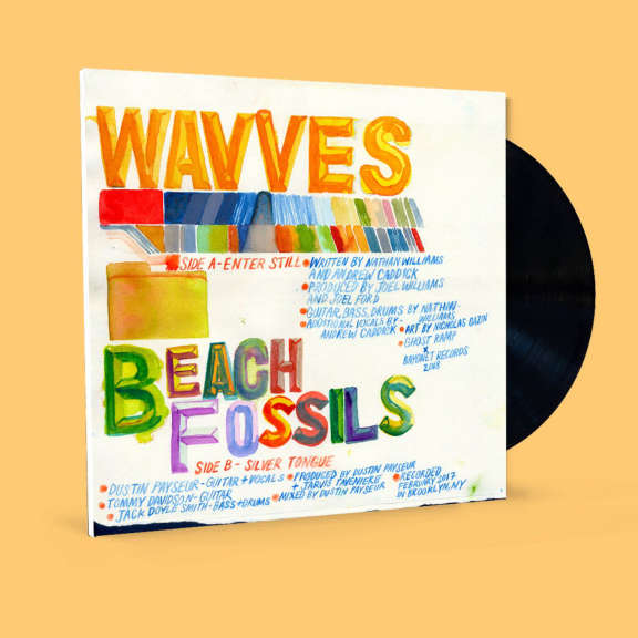 Wavves X Beach Fossils Enter Still / Silver Tongue LP 2019