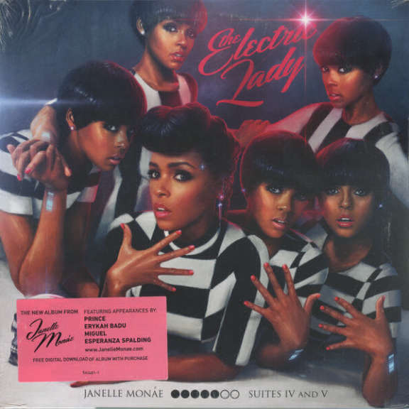 Janelle Monae The Electric Lady LP 2013