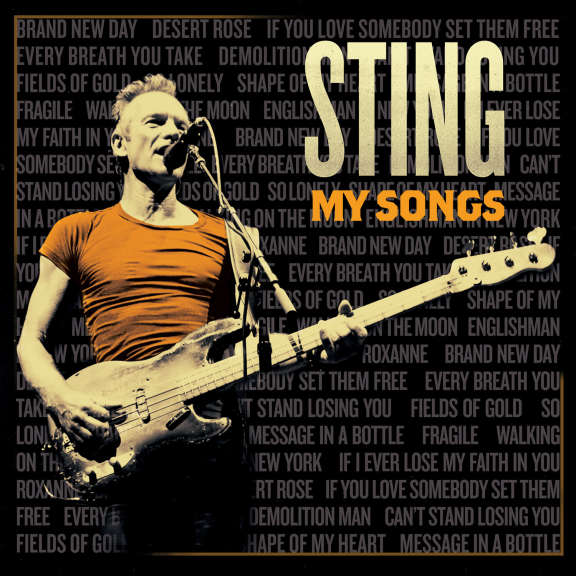 Sting My Songs LP 2019