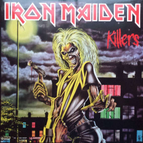 Iron Maiden Killers LP 2014