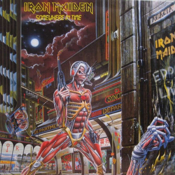 Iron Maiden Somewhere in Time LP 2014