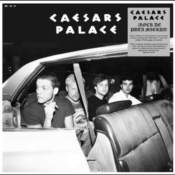Caesar's Palace Rock de Puta Mierda LP 2019