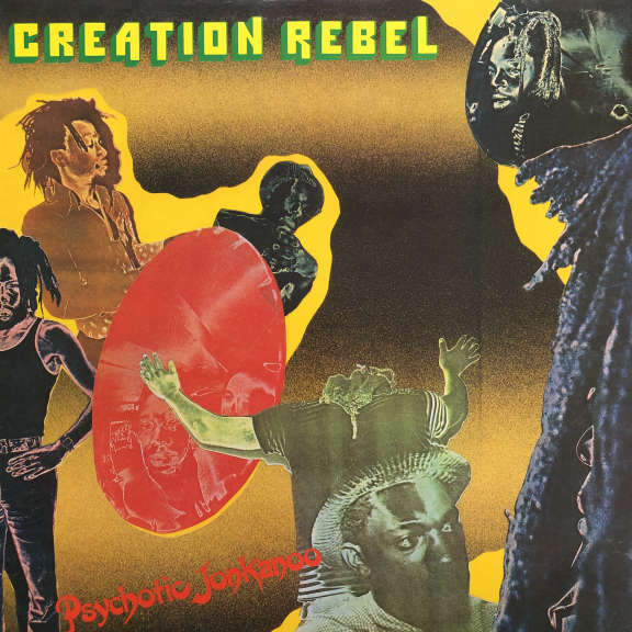 Creation Rebel  Psychotic Jonkanoo LP 0