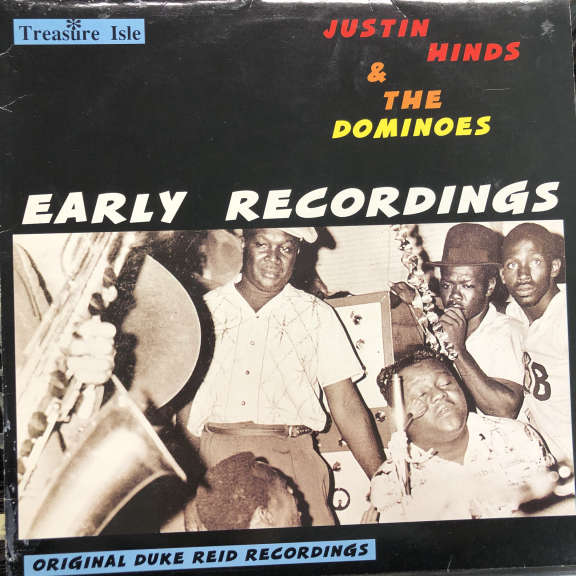 Justin Hinds & The Dominoes  Early Recordings LP 1991