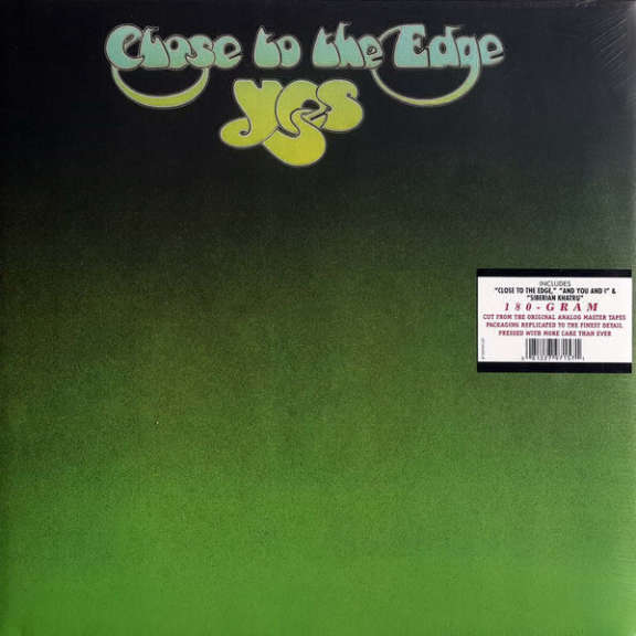 Yes Close to the Edge LP 2012