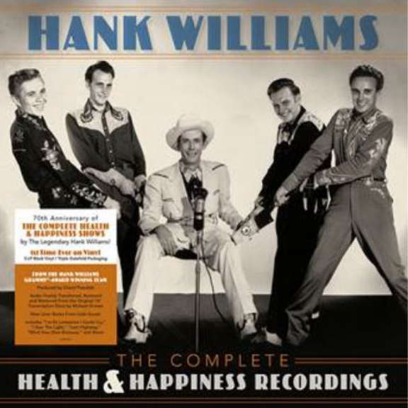 Hank Williams The Complete Health & Happiness Recordings LP 2019