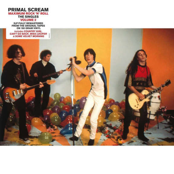 Primal Scream Maximum Rock 'n' Roll (2000-2016) LP 2019