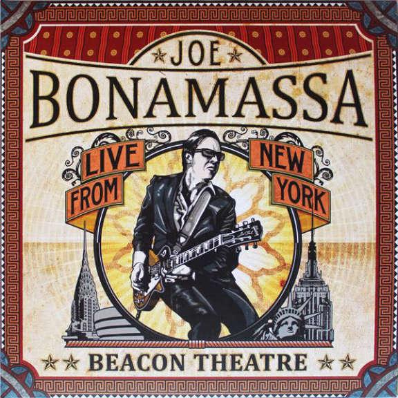 Joe Bonamassa Beacon Theatre - Live from New York LP 2012