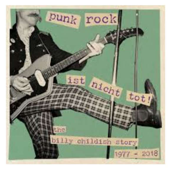 Billy Childish Punk Rock Ist Nicht Tot! LP 2019