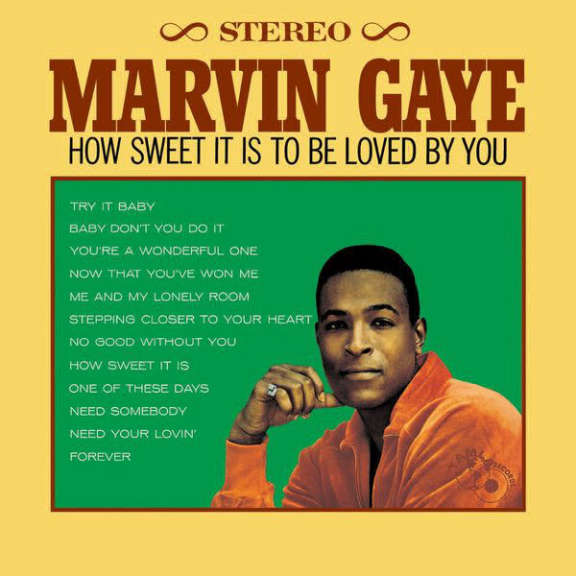 Marvin Gaye How Sweet It Is to Be Loved by You LP 2015