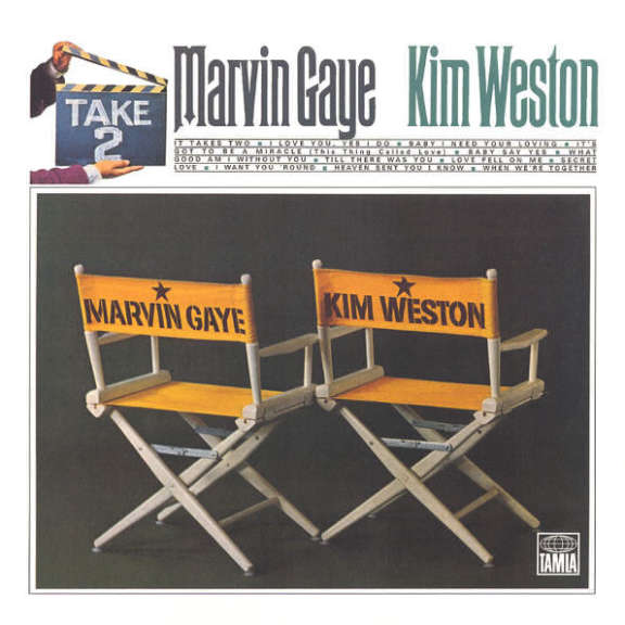 Marvin Gaye & Kim Weston Take Two LP 2016