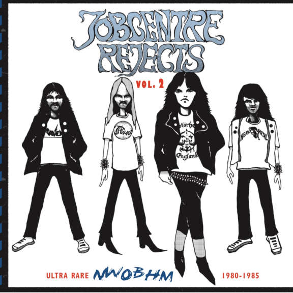 Various Jobcentre Rejects Vol 2 - Ultra rare NWOBHM 1980-1985 LP 2019