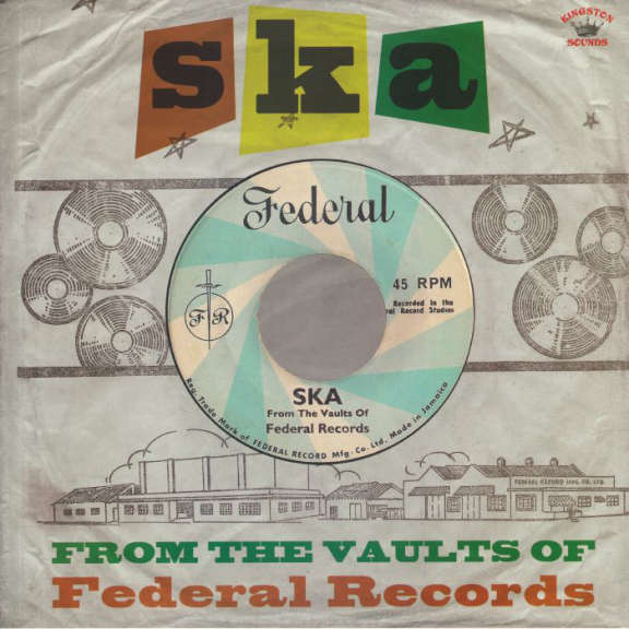 Various Ska From The Vaults of Federal Records LP 2019