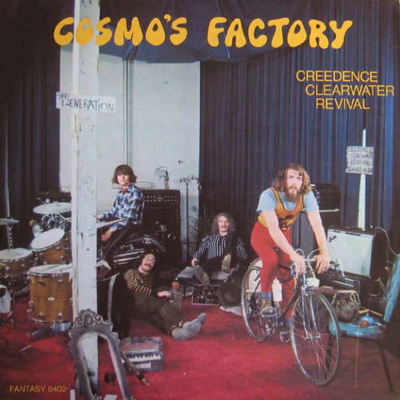 Creedence Clearwater Revival Cosmo's Factory LP 2019
