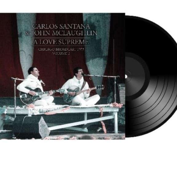 Carlos Santana & John McLaughlin A Love Supreme vol. 2 LP 2019