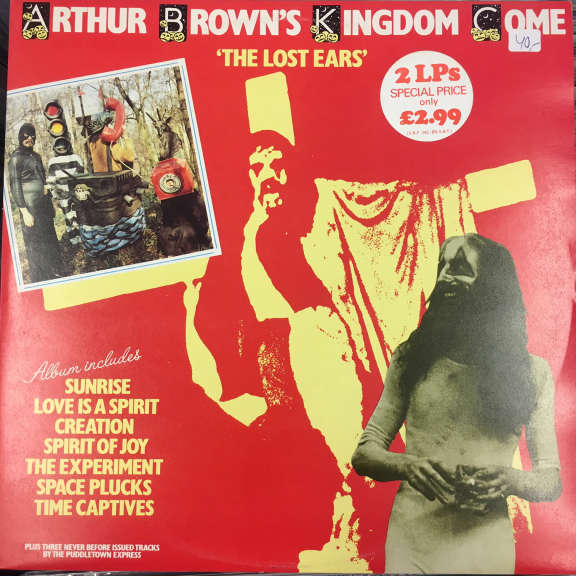Arthur Brown's Kingdom Come The Lost Ears LP 1976