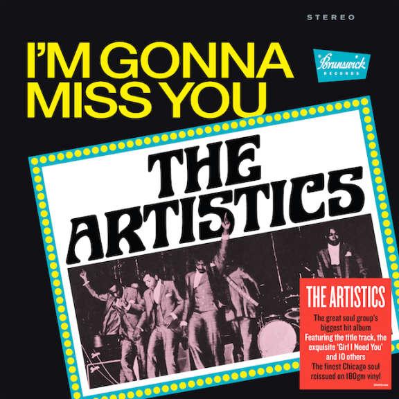 Artistics I'm Gonna Miss You LP 2019
